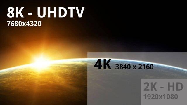 Ultra HD raiškos televizoriai