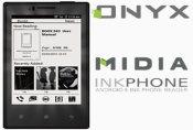 Išmanusis telefonas Onyx MIDIA InkPhone su E Ink ekranu kainuos 140 eurų