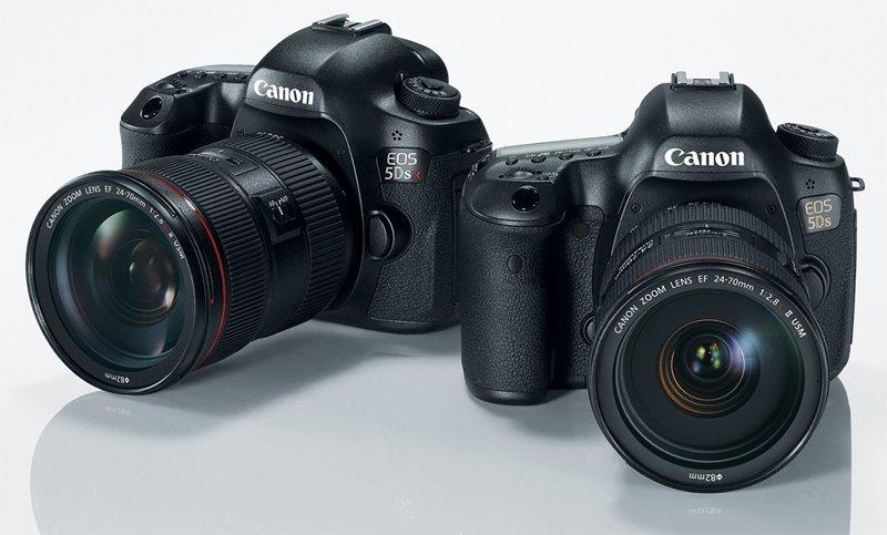 """""""Canon EOS 5DS"""" ir """"EOS 5DS R"""": pilno kadro fotoaparatai su 50,6 megapikselių jutikliu"""