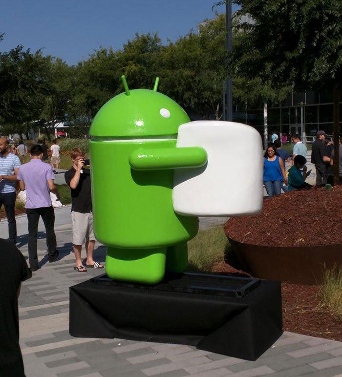 """Android M"" oficialiai pavadintas ""Marshmallow"""