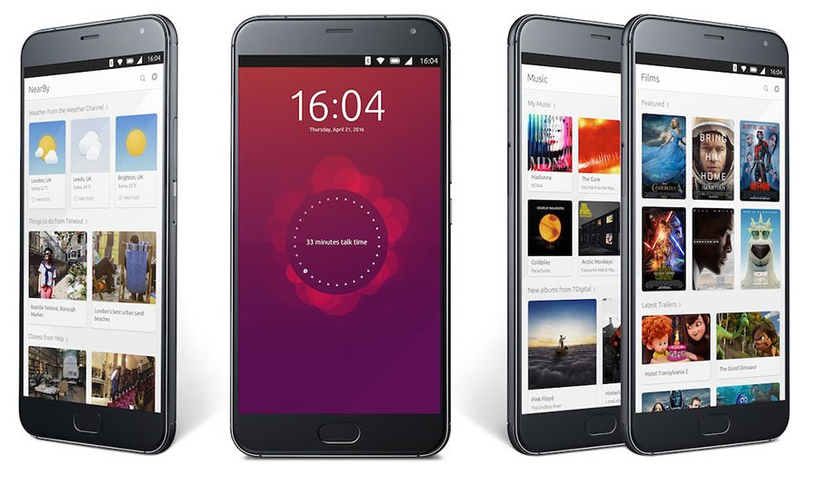 Meizu Pro 5 with Ubuntu Touch by UBports