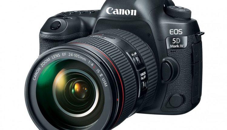 """Canon pristatė viso kadro veidrodinį fotoaparatą """"EOS 5D Mark IV"""""""