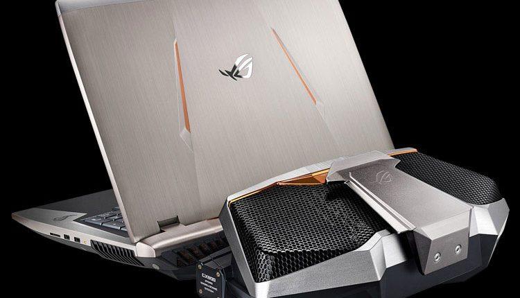"""ASUS pristatė naujus nešiojamus kompiuterius """"ROG GX800"""" ir """"ROG G800"""" su """"GeForce 10"""" grafikos plokštėmis"""