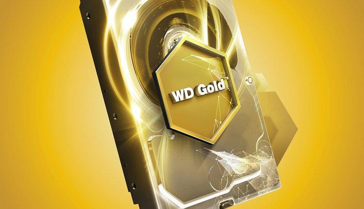 WD pristatė 10 TB talpos HDD Gold