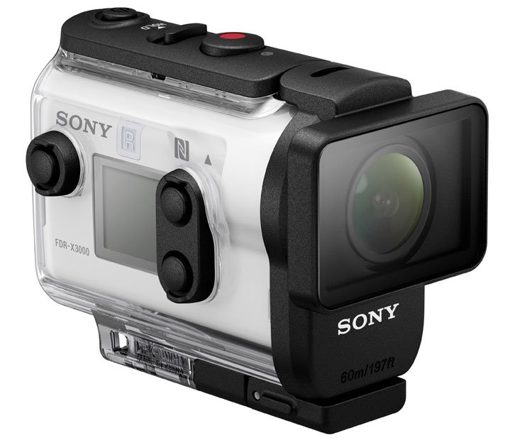 Sony-FDR-X3000R-vanduo