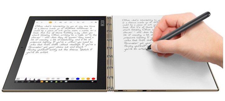 """""""Lenovo Yoga Book"""" – planšetinis kompiuteris kūrybai ir darbui"""