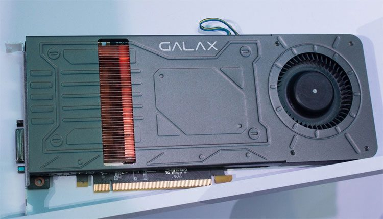 """""""Galax"""" parodė pirmąją pasaulyje grafikos plokštę """"GeForce GTX 1070"""" su viena magistralės jungtimi"""