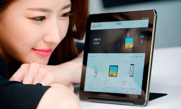 """Planšetė """"LG G Pad III 10.1"""" gavo integruotą atramą"""