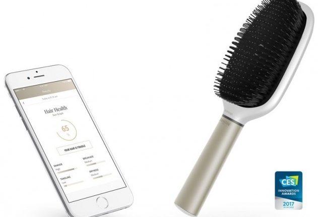 """""""Nokia"""" ir """"L'Oreal"""" pristatė išmanųjį plaukų šepetį"""