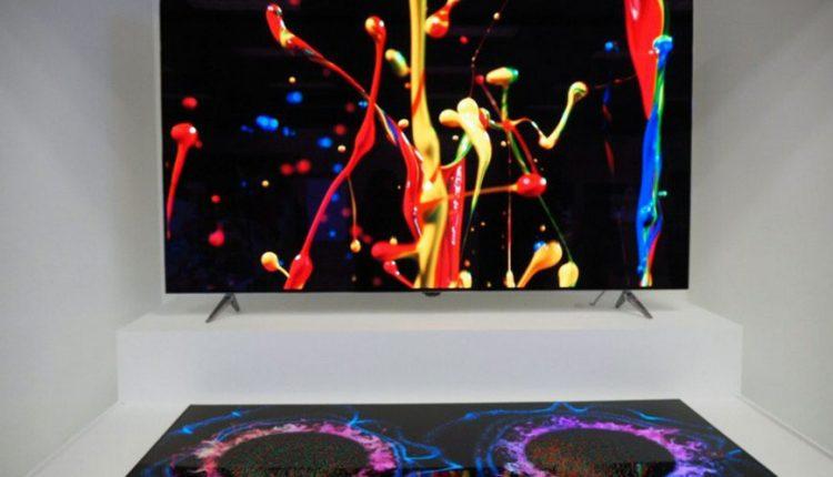 LG parodė 65 colių OLED ekrano-garsiakalbio prototipą
