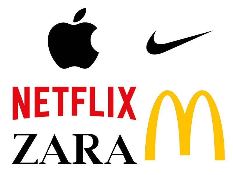 Minimalistiniai logotipai