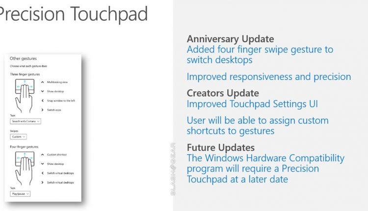 Microsoft nešiojamųjų kompiuterių gamintojus privers naudoti kokybiškus jutiklinius kilimėlius