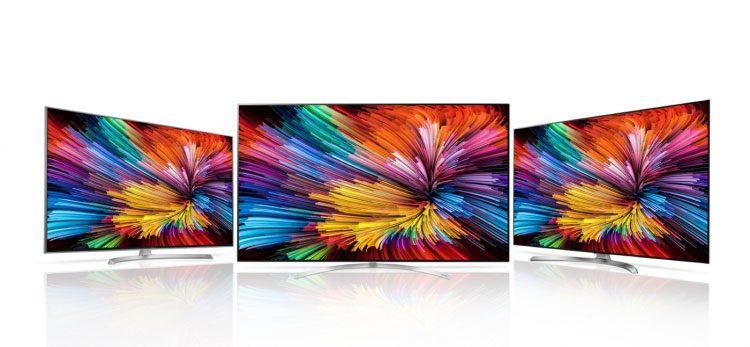 LG pristatė televizorių seriją su Nano Cell technologija