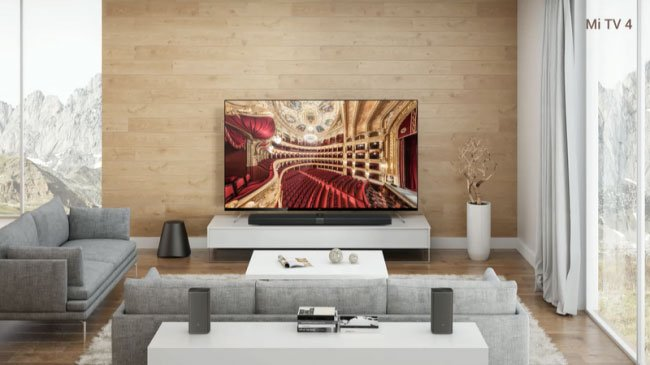 """CES 2017: vos 4,9 mm storio televizorius """"Xiaomi Mi TV 4"""" gavo itin plonus rėmelius"""