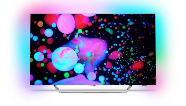 """Naujos 2017 metų """"Philips TV"""" linijos pasididžiavimas – 9002 serijos OLED televizorius įvertintas prestižiniu dizaino – """"Red Dot"""" apdovanojimu"""