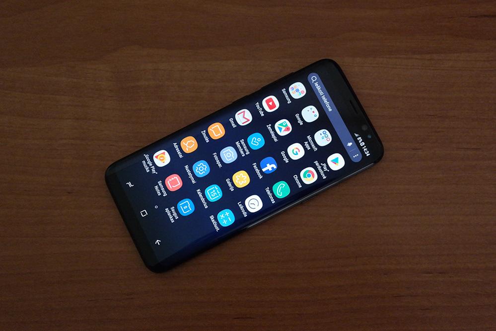 Galaxy S8 Sim Karte.Samsung Galaxy S8 Apžvalga Išmanusis Iš Kitos Galaktikos It