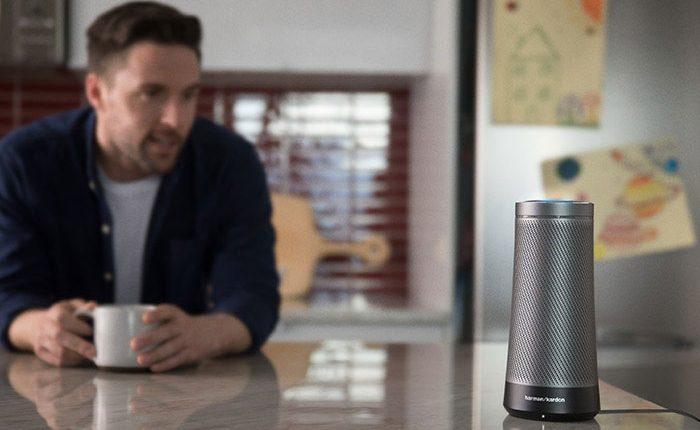 """""""Microsoft"""" ir """"Harman Kardon"""" pristatė išmanųjį garsiakalbį """"Invoke"""" su """"Cortana"""""""