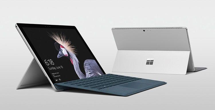 """""""Microsoft"""" oficialiai anonsavo penktos kartos """"Surface Pro"""""""