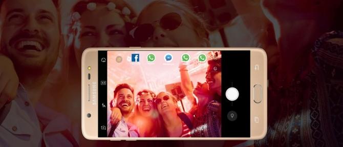 """Samsung Galaxy J7 Pro"" ir ""Galaxy J7 Max"" pristatyti Indijoje"