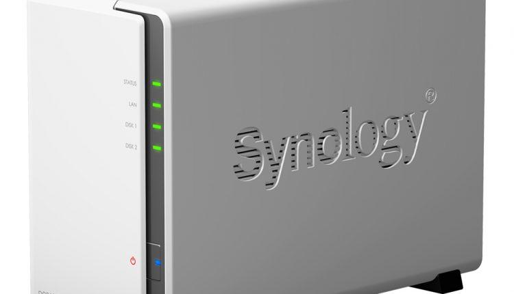 """Duomenų saugyklos (NAS) """"Synology Diskstation DS216j"""" apžvalga"""