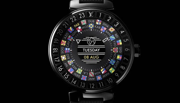 """""""Louis Vuitton"""" psitatė prabangų išmanųjį laikrodį """"Tambour Horizon"""""""