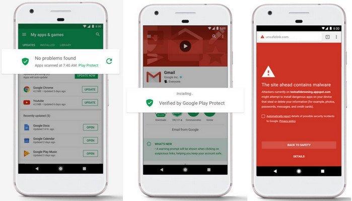 Google Play Protec