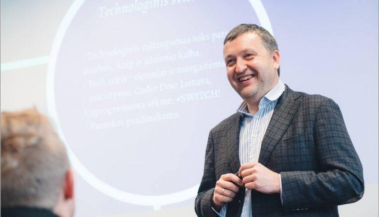 """Antanas Guoga: kaip pradėti kurti """"tech"""" karjerą?"""