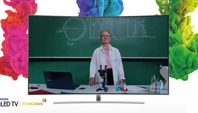 """Nauja """"Samsung"""" programėlė televizoriams – išsigelbėjimas nematantiems spalvų"""
