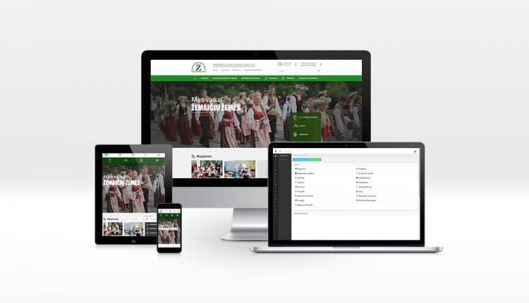 Atnaujintas interneto svetainių mokykloms įrankis