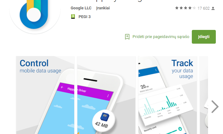 """2017 m. dėmesio sulaukusios """"Android"""" programėlės"""