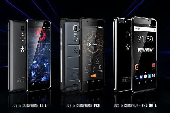 Just5 CoinPhone – pirmasis pasaulyje mobilusis telefonas su įdiegta bitkoinų pinigine