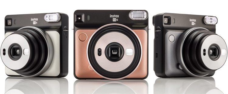 """""""Fujifilm Instax SQ6"""": analoginis fotoaparatas, skirtas kvadratinėms nuotraukoms"""