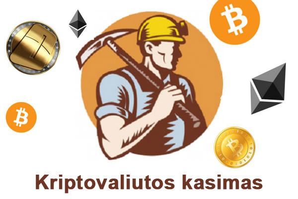 usidirbti pinig kriptografini kasykl kasybai