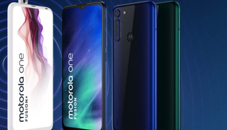 """Pristatytas ištvermingas """"Motorola One Fusion"""""""
